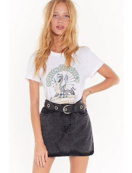 Wash What Happens Next Denim Mini Skirt by Nasty Gal