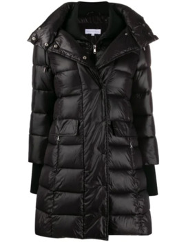 Thumb Hole Padded Coat by Patrizia Pepe