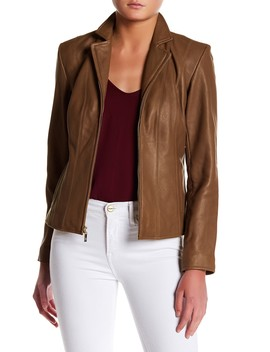 Lamb Leather Jacket by Cole Haan