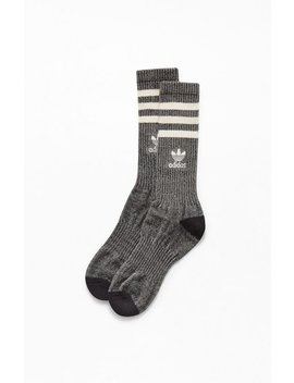 Adidas Natural Roller Crew Socks by Pacsun