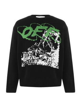 Ruined Factory Knit Jumper by Off White