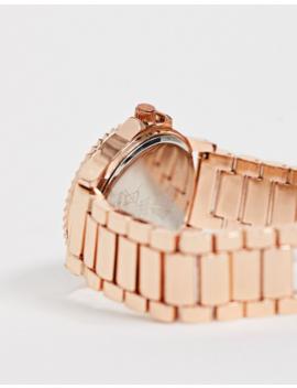 Spirit Ladies Chronograph Bracelet Watch In Rose Gold by Asos
