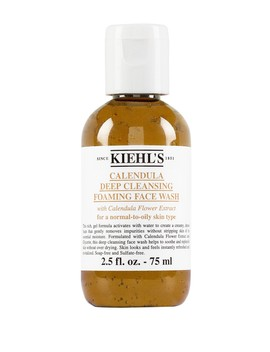 Calendula Deep Cleansing Foaming Face Wash   2.5 Fl. Oz.   Travel Size by Kiehl's Since 1851