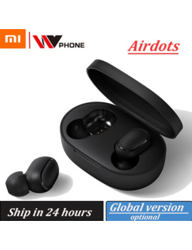 Xiaomi Airdots Redmi Airdots Tws Wireless Earphone Voice Control Bluetooth 5.0 Noise Reduction Tap Control by Ali Express.Com