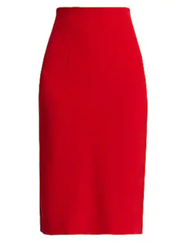 Elbia Silk Blend Pencil Skirt by Silvia Tcherassi