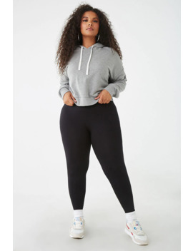 Plus Size Seamless Leggings by Forever 21
