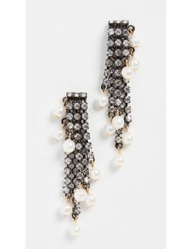 Tressor Earrings by Elizabeth Cole