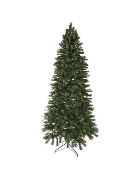 8' Slim Norway Spruce Artificial Unilt Christmas Tree by Oncor Trees