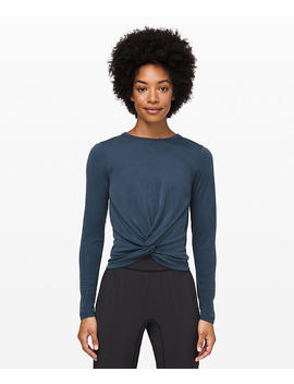 Crescent Long Sleeve Cupro Rib New by Lululemon