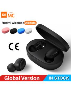Xiaomi Redmi Air Dots Earphone Bluetooth Headset 5.0 Tws True Wireless Stereo Sbc Cute Mini Light Earphones Auto Charging Box by Ali Express.Com