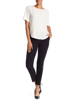 Skinny Work Pants by Laundry By Shelli Segal