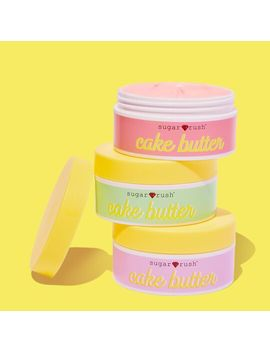 sugar-rush-cake-butter-whipped-body-butter-trio by tarte