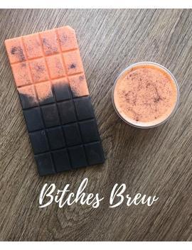 Soy Wax Melt Bitches Brew, Halloween Wax Tarts And Snap Bars by Etsy
