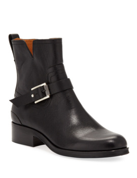 Abel Short Leather Moto Boots by Rag & Bone