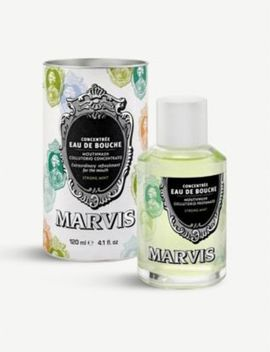 Strong Mint Mouthwash 120ml by Marvis