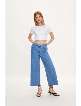 Cropped T Shirt View All T Shirts Trf by Zara