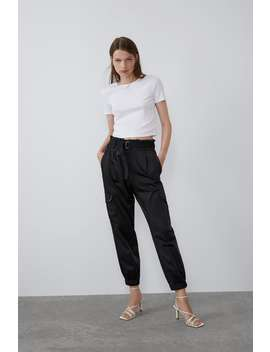 Textured T Shirt View All T Shirts Trf by Zara