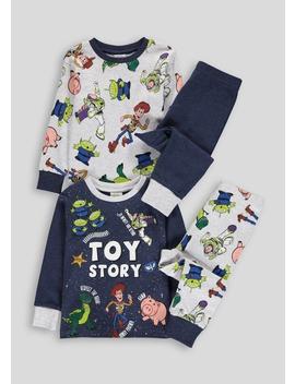 Kids 2 Pack Toy Story Pyjamas (12mths 7yrs) by Matalan