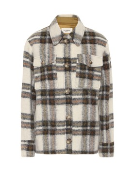 Gaston Checked Wool Blend Jacket by Isabel Marant, Étoile