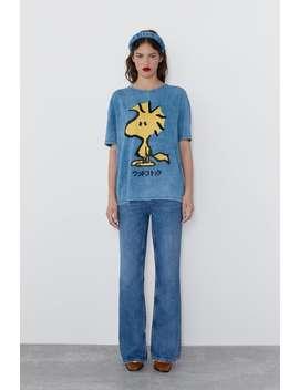 T Shirt Licens Snobben ®Peanuts Samarbete TrÖjor Dam by Zara