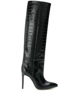 Crocodile Effect Boots by Paris Texas