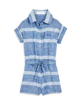 Girls' Camp Shirt Romper   Little Kid, Big Kid by Bella Dahl