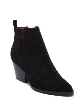 Rella Snake Embossed Bootie by Jeffrey Campbell