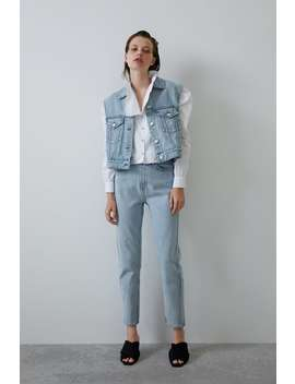 Jeans Mit Superhoher Taille Join Lifedamen Cornershops by Zara