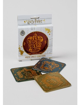 Harry Potter House Coasters by Matalan