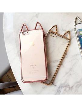 Rocka Case   Cat Ear Phone Case   I Phone 6 / 6 Plus / 7 / 7 Plus by Rocka Case