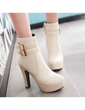 Aegina   High Heel Ankle Boots by Aegina