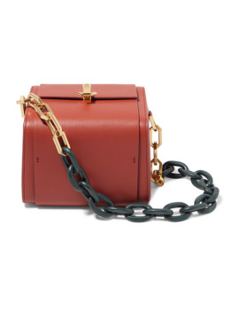 Po Cube Leather Tote by The Volon