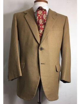 Oxxford Clothes 100% Cashmere Brown Sport Coat Blazer Men's 42 R by Oxxford Clothes