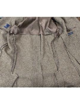 Polo Ralph Lauren Wool Tweed Sport Coat Jacket 42 R Made In Italy Vented by Polo Ralph Lauren