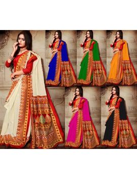 Designer Saree Pakistani Indian Bollywood Sari Kanchipuram Cottonsilk Sari Sc by Ebay Seller