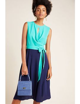 Pietra Colorblocked Midi Dress by Mare Mare