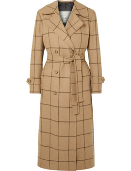 Christie Checked Merino Wool Coat by Giuliva Heritage Collection
