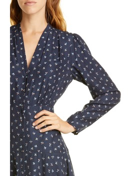 Clover Long Sleeve Silk Blend Dress by Tailored By Rebecca Taylor
