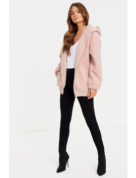 Urban Bliss Borg Hooded Jacket by Next