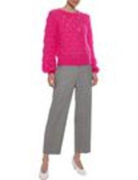 Kiira Open Knit Mohair Blend Sweater by Iris & Ink