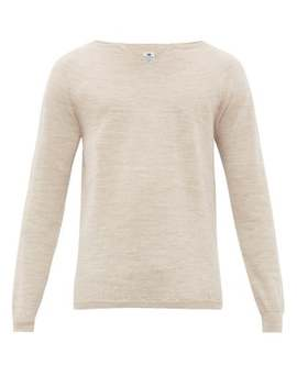 V Slit Wool Sweater by Sasquatchfabrix