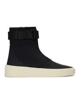 Black Scuba Boot Sneakers by Fear Of God