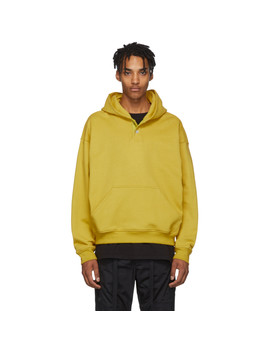 Yellow Everyday Henley Hoodie by Fear Of God
