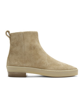 Tan Santa Fe Chelsea Boots by Fear Of God