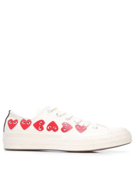 X Converse Chuck Taylor Multi Heart 1970s Ox Sneakers by Comme Des Garçons Play