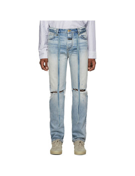 Blue Relaxed Jeans by Fear Of God