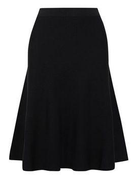 Keki Flared Stretch Knit Skirt by Iris & Ink