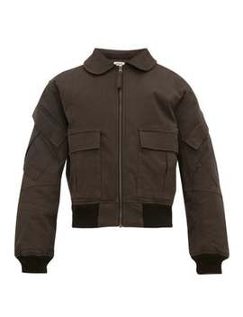 Patrol Organic Cotton Bomber Jacket by Phipps