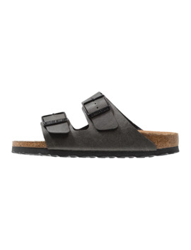Arizona Bf Pull Up Anthracite Veg2 Narrow Fit   Hausschuh by Birkenstock