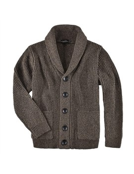 Voboom Men's Sweater Autumn Winter Warm Knitted Cardigan Sweaters Thick Man Casual Knitwear Male Out Coat With Pockets 500 by Ali Express.Com